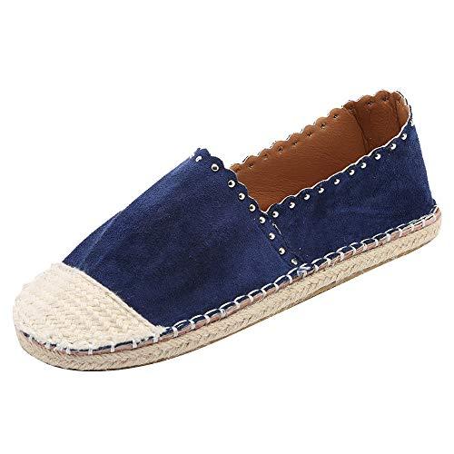 Stiefel Frauen Mode,Vovotrade Stroh Rund Toe Sneaker Schuhe Casual Rutschfeste Flach Boden Stiefeletten Klassische Kurzstiefel Einzelne Damenstiefel