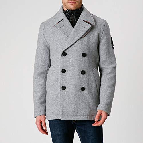 Gaastra Black Raven Tech, Manteau d'hiver pour Hommes