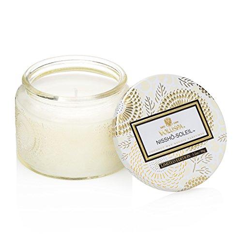 Voluspa Inoue Soleil-PETITE Kerze in geprägter Jar -