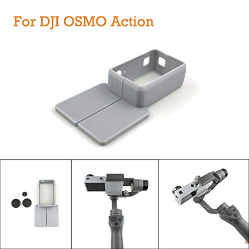 Webla Konverter für Osmo Action Kamera Adapter für DJI OSMO Mobile 1/2, Grau -