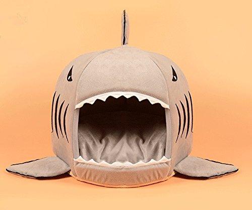 CIDBEST® kreative Shark Warm Kuschelhöhle Haustier/Katzen/Schlafplätze Pet House Haustiere Hund-Katze-Welpen-Bett Warm Sofa House Bed Mat Hund Zimmer Kuschelhöhle/Hundehöhle