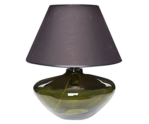 SIGNATURE HOME COLLECTION CO-107-MA-G+CO-SI-A214 - Lampada da tavolo in vetro