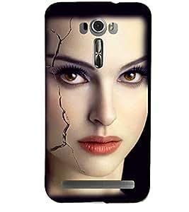 PRINTSHOPPII GIRLY Back Case Cover for Asus Zenfone 2 Laser ZE601KL::Asus Zenfone 2 Laser ZE601KL (6 Inches)
