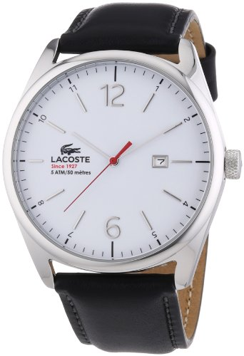 Lacoste Gents Watch XL Analogue Quartz 2010680 Leather