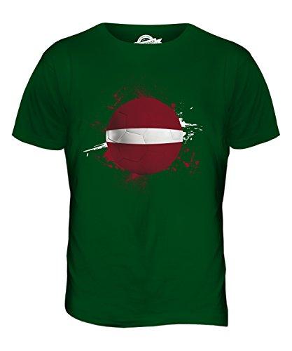 CandyMix Lettland Fußball Herren T Shirt Flaschengrün