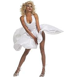 WIDMANN Widman - Disfraz de Marilyn para mujer, talla S (35021)