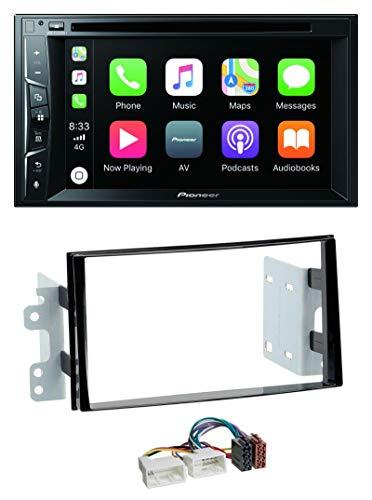 caraudio24 Pioneer AVH-Z2200BT MP3 CD USB Bluetooth 2DIN DVD Autoradio für Kia Carens 3 11-13 Klavierlack Dvd-13.3
