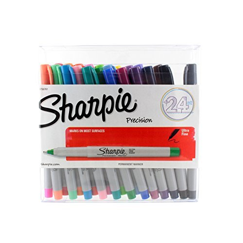 sharpie-rotuladores-permanentes-con-punta-ultrafina-24-colores