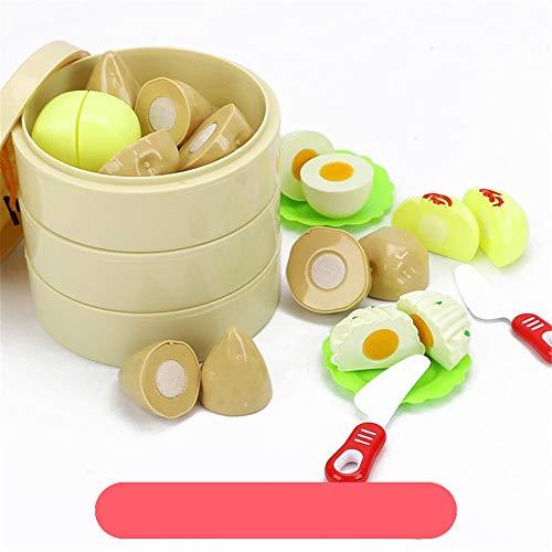 Kinderspielzeug für Kinder, um Geburtstagsgeschenk Schneiden Sie Frucht-Spielwaren-Spiel-Küche-Spaß-Spiel-pädagogisches Spielzeug für Kinder Kindergeburtstag, Kindertagesgeschenke. ( Farbe : A )