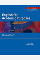 English for Academic Purposes (Oxford Handbooks for Language Teachers) Paperback
