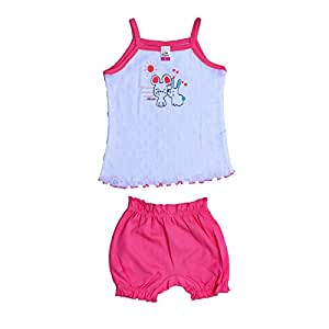 1st Care New Born Baby Girl Cat Frock Top With Pant Amazonin Baby