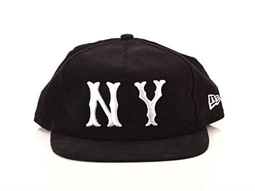 New Era 9FIFTY New York Highlanders Cap - MLB Cooperstown Cord - Schwarz - S/M - New York Cord