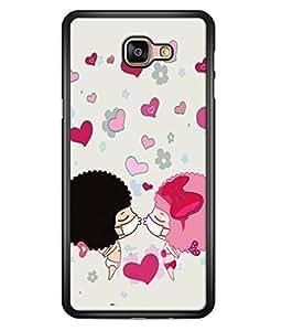 PrintVisa Lovel Cute High Gloss Designer Back Case Cover for Samsung Galaxy A9 (2016) :: Samsung Galaxy A9 Pro (2016)