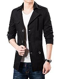 YiLianDa Herren Sakko Sweatjacke Slim Fit Blazer Anzug Casual Jacke Modisch  Freizeit Outwear 51870aac6a