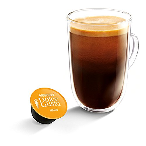 Choose NESCAFÉ Dolce Gusto Preludio, Pack of 3 (Total 48 Capsules, 48 Servings) from Nestle UK