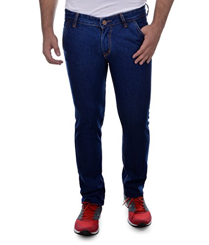 Ben Martin Men's Relaxed Fit Jeans (BMW-JJ9-DB-P3-32_Dark Blue_32)