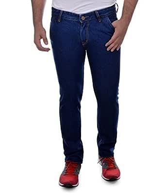 Ben Martin Men's Cotton Jeans (Dark Blue, 28)