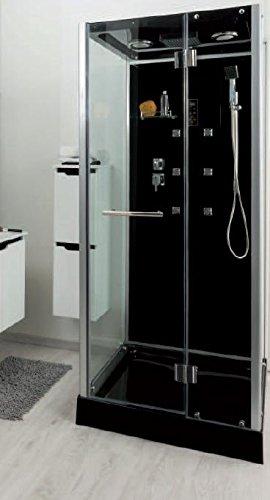 Aqua Plus SACHCABYTAL Ytal 90/90 Cabine de douche hydro Noir