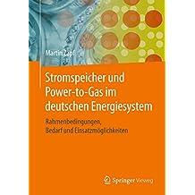 Stromspeicher und Power-to-Gas im deutschen Energiesystem: Rahmenbedingungen, Bedarf und Einsatzmöglichkeiten