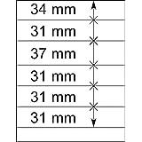 Lindner 802601 Feuilles neutres LINDNER-T - à l'unité