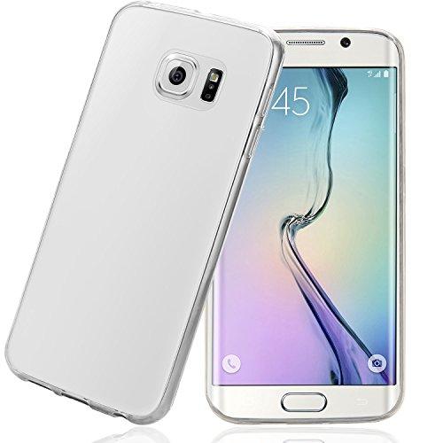 Samsung Galaxy S6 Edge Hülle, Bingsale Ultra Slim TPU Case Samsung Galaxy S6 Edge Silikon Schutzhülle (transparent, Samsung Galaxy S6 Edge)