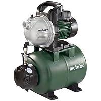 Metabo Hauswasserwerk HWW 4000/25 G (600971000) Karton, Nennaufnahmeleistung: 1100 W, Max. Fördermenge: 4000 l/h, Max…