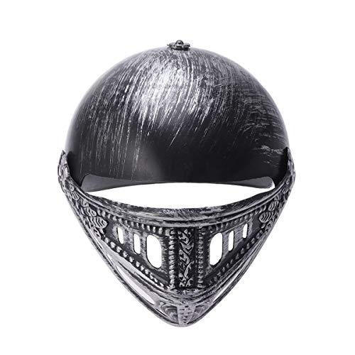 Kostüm Römischen Legion - Fenical Römischer Krieger Helm Gladiator Helm Hut Spartanischer Krieger Kostüm Cosplay Party Requisiten Zubehör