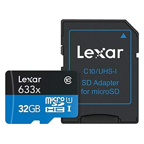 Lexar Schede ad alte prestazioni 633x 32GB microSDHC UHS I