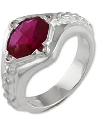 Schumann Design Herr der Ringe Narya Ring 925 Sterling Silber 1006