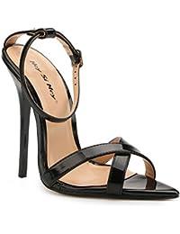 L@YC Sandalias de Tacón Alto Para Mujer Summer Comfort PU Vestido de Noche y Fiesta de Boda Stiletto