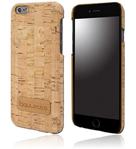 Bouletta - Jacket - Apple iPhone 6 Plus / 6S Plus Hülle | Schutz-Hülle | Handyhülle | Tasche | Handytasche | Schutzhülle | Cover | Case | Hülle | Vintage / Retro Look (Kork) Kork / Beige