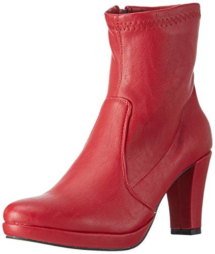 Andrea Conti 1122790, Bottes Classiques femme Rouge - Rot (Rot 021)