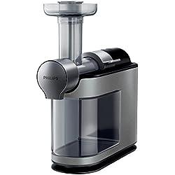 Philips HR1897/30 Extracteur de jus, gris métallisé, 200W, Technologie MicroExtraction