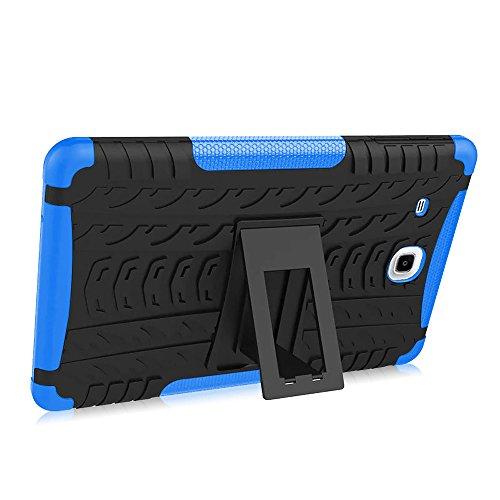 Hand Langlebig Tablet Cover Tablet-Schutzhülle Kratzfest Schale Halterung Halter Unterstützung für Samsung Galaxy Tab E 24,4cm T560/T561 (Griff Samsung Galaxy Tab 2)