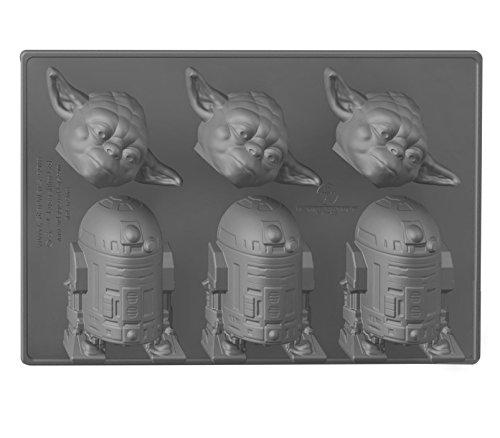 Funko Star Wars UK Ice Cube Tray, Silikon, Multi, 18 x 22 x 28 cm 28 Chocolate Mold