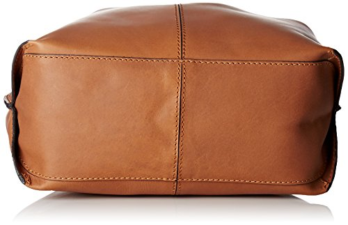 Clarks Taceno Cove, Sacs Portés Main Femme, 11x32x41 cm Marron (Tan Leather)