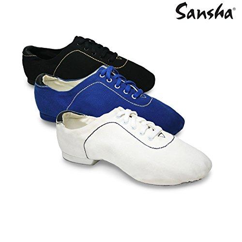 Sansha js12C Kyoto Scarpe di jazz Donna bianco