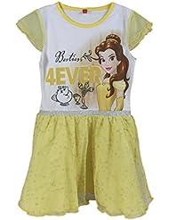 Vestido para niña Disney Princess, 5 años, multicolor