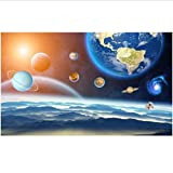Yssyss Chinesisches Silk Wandbild Des Raumsystemsternraum-Wohnzimmer 3D Des Wandbildes 3D-450(H)*300(W) Cm