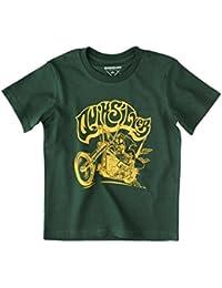 Quiksilver T-shirt pour enfant à manches courtes Basic Boy, Enfant, T-Shirt Short Sleeve Basic Boy, Vert, T02