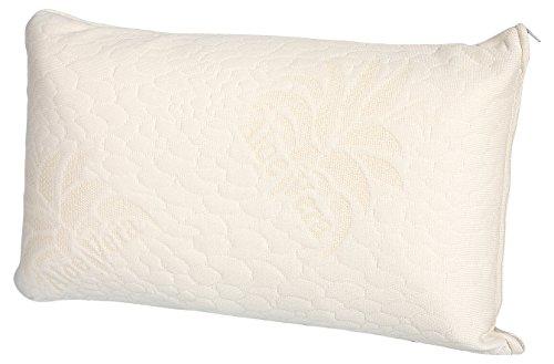 Dormio - Cojín almohada de viaje con núcleo de viscoelástica compacto y...