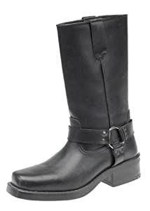 Engineer Boots, Pull-On Western Buckle Biker Boots from Gringos