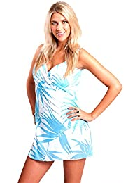 9ab458e40f0 Amazon.co.uk: Turquoise - Cover-Ups & Sarongs / Swimwear: Clothing
