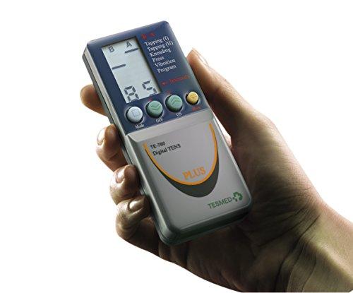 ettrostimolatore TESMED TE780 -124 trattamenti:sport,estetica,tens antidolori -2 canali - Utilizzo di 8 elettrodi contemporaneamente