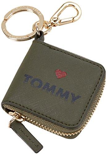 Tommy HilfigerHONEY COIN PURSE KEYFOB - Portachiavi Donna , Multicolore (Mehrfarbig (Military / Print 901 901)), 7x12x1 cm (B x H x T)