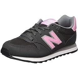 New Balance Gw500v1, Zapatillas de Deporte para Mujer, Gris (Grey/Pink Gsp), 37 EU