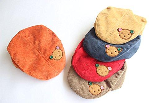 JUNGEN Floppy Chapeau Wide Brim Chapeau De Soleil Fashion Voyage Chapeau de Plage bébé Idéal pour Bérets Unisex pour Enfants Garçons Vacances Bleu Foncé 1 PCS Jaune