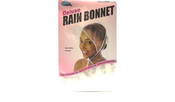 Pack of 12 #0147 Dream Rain Bonnet Plastic #0147