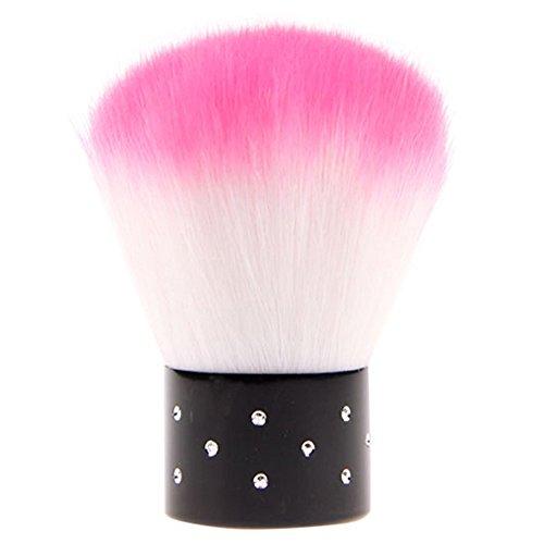 coloré doux Nail Art Brosse pour acrylique gel UV Nail Art poussière Brosse Couleur aléatoire