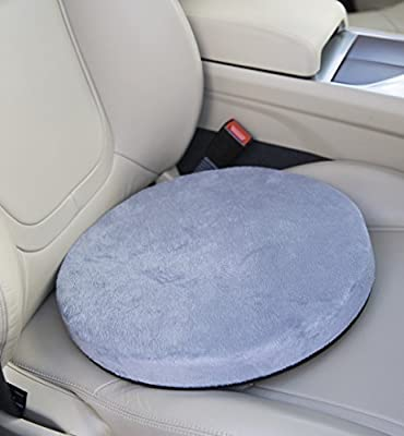 Posture Cushion - 360 Rotating Memory Foam Swivel Cushion. Great For Getting In And Out Of The Car If You Have Mobility Problems. Available In Blue With A Soft Feel Cover And Non Slip Base. Great Quality And Value For Money. - cheap UK light shop.